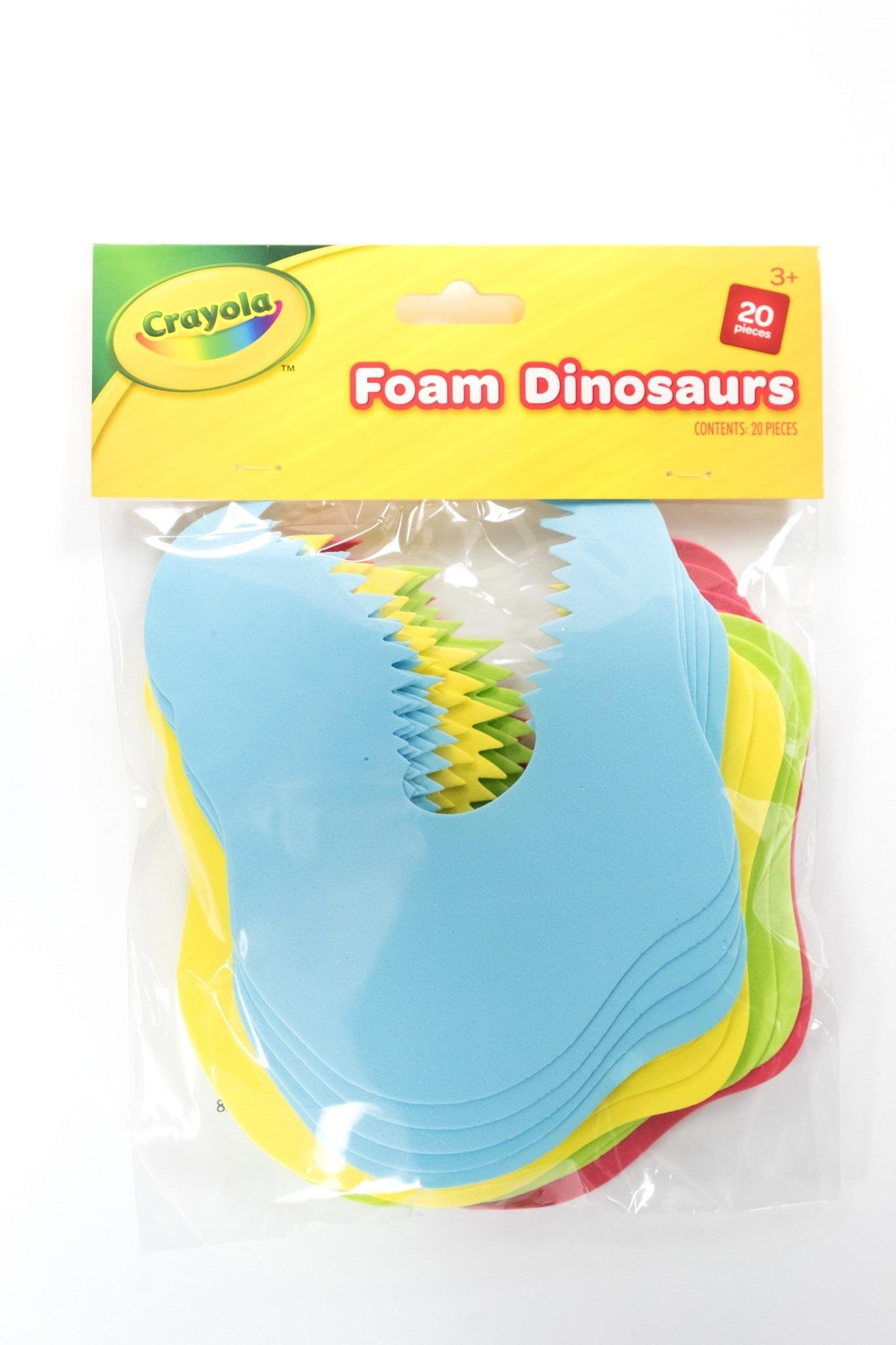 Crayola Craft - Foam Dinosaurs - 20 pcs