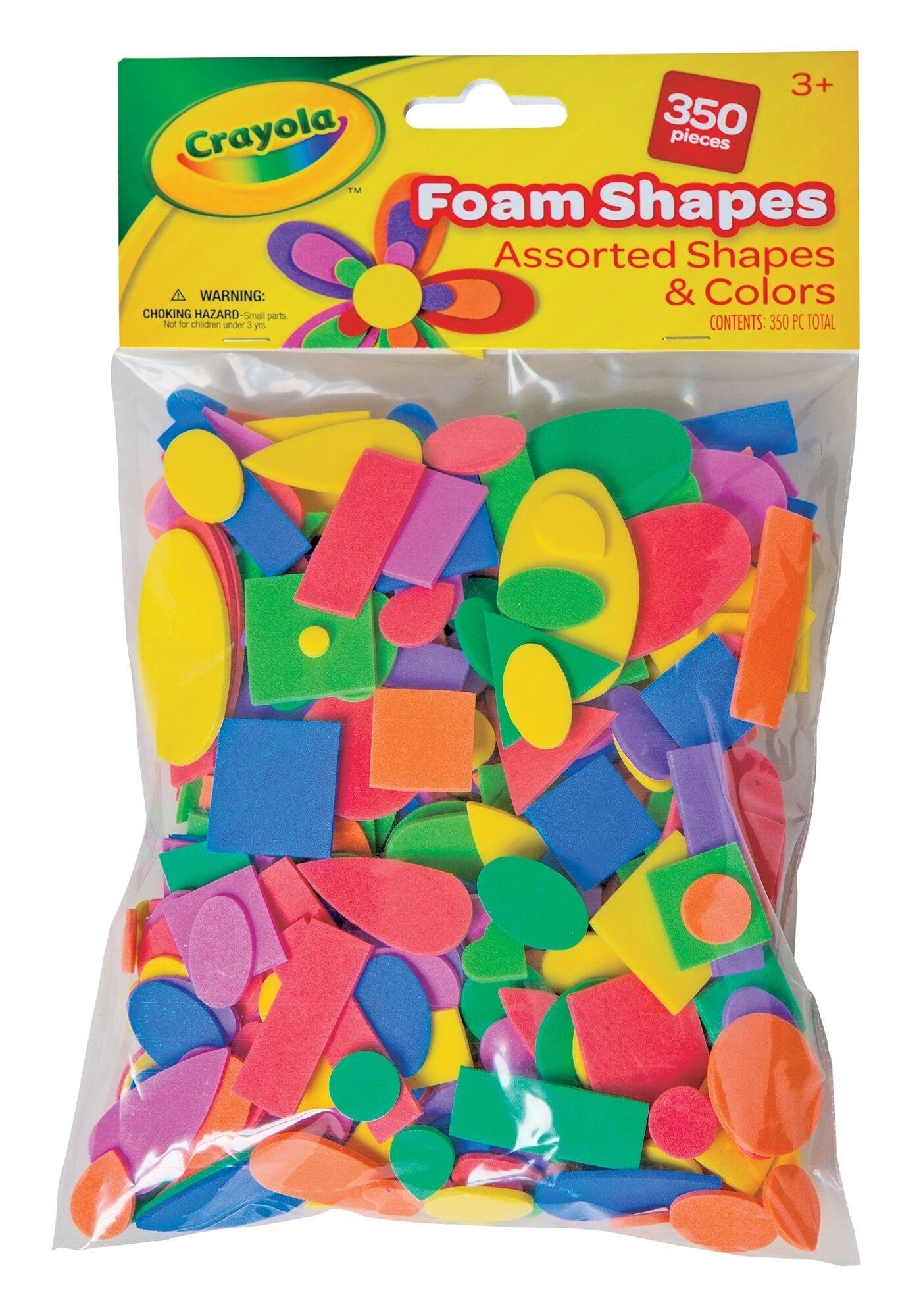 Crayola Craft - Foam Shapes - 350 pcs
