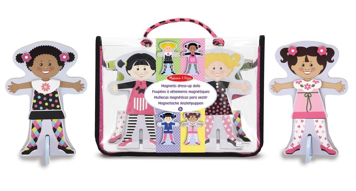 Magnetic Dress Up Dolls 60 Pc Bag The Learning Lab